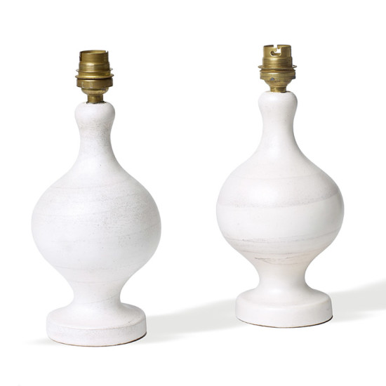 Jouve_G_pair_table_lamps_white_speckle_swirl_3
