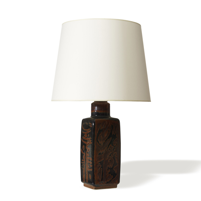 "Gallery BAC | ""Sultan"" table lamp with lustre glazing by Carl"