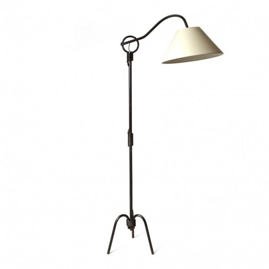 Standing lamp Royere J adjustable arm in iron_2 (2)