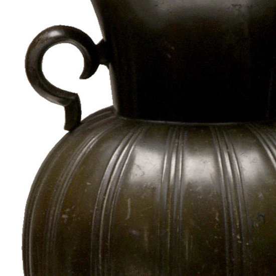 Gallery Bac Vase With Scalloped Round Body Neck And