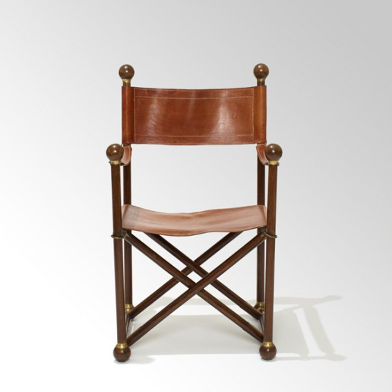 Gallery Bac Early Safari Chair Attributed To Mogens Koch