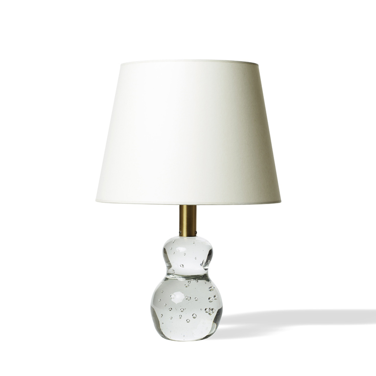 Gallery BAC | Table lamp with calabash shape in hand-formed bubble ...