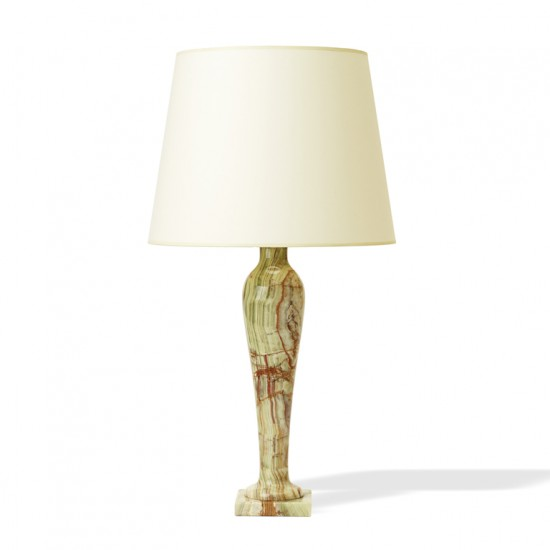 Italian_pair_table_lamps_alabaster_vase_form_green_brown_ivory_1