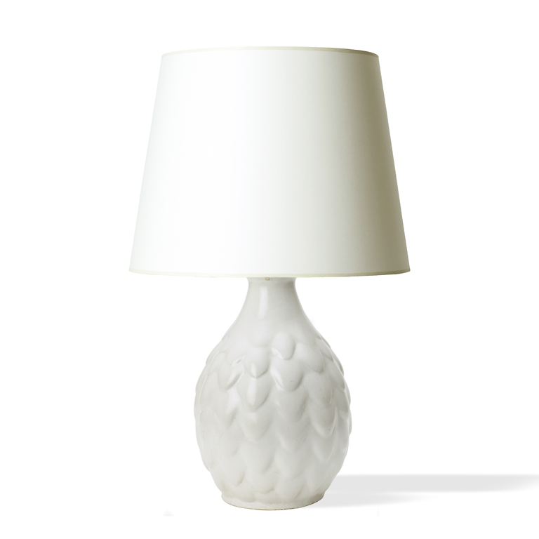 Gallery BAC | Artichoke Or Pine Cone Form Table Lamp By Michael Andersen U0026  Søn