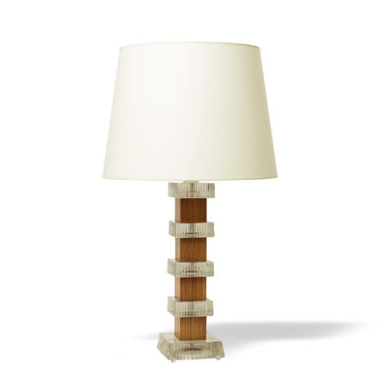 Swedish_pair_table_lamps_stacked_blocks_teak_glass_1