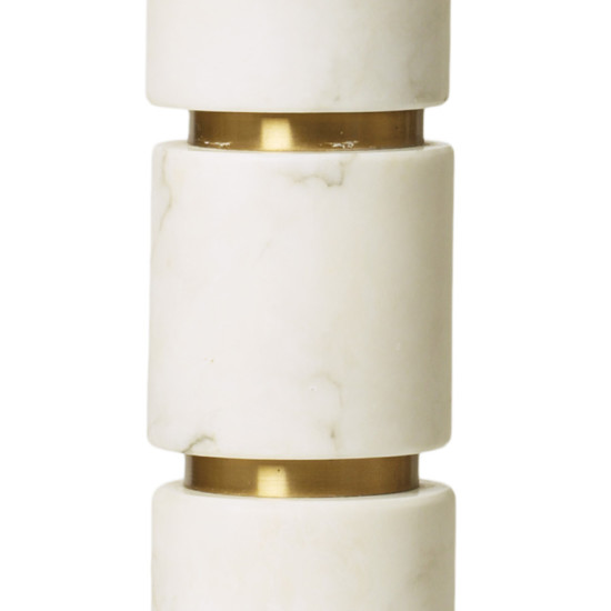 Bergboms_pair_table_lamps_marble_brass_stacked_round_2
