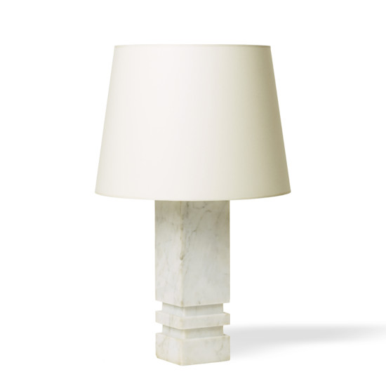 Bergboms_pair_table_lamps_marble_pillars_two_carved_channels_1