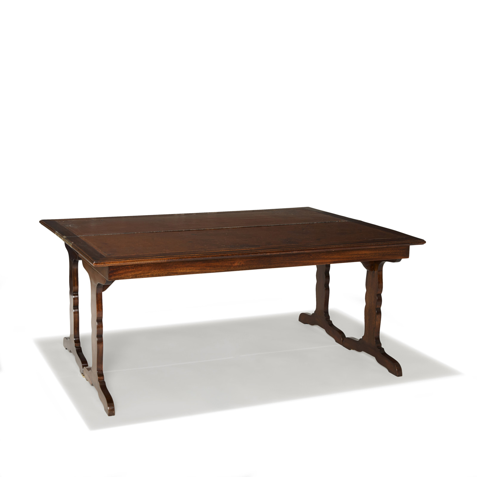 Gallery Bac Flip Top Coffee Table In Figured Mahogany By Jean Michel Frank