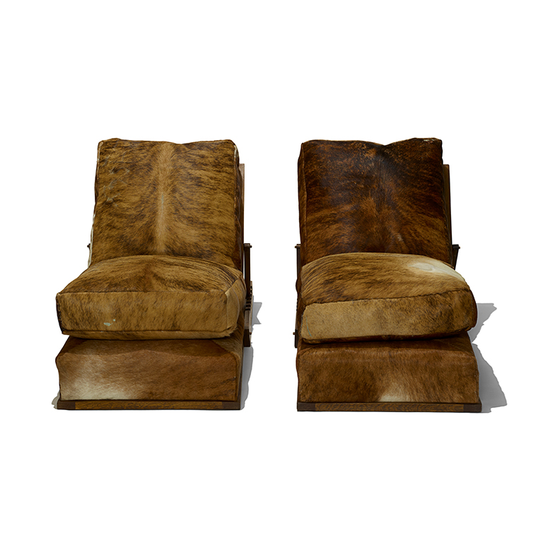 Gallery Bac Pair Of Reclining Chairs In The Style Of