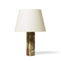 Italian_pair_table_lamps_squared_column_onyx_green_brown_1 thumbnail