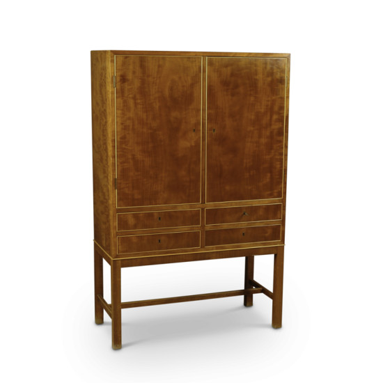 Danish_master_cabinetmaker_cabinet_on_stand_2_doors_4_drawers_mahogany_2