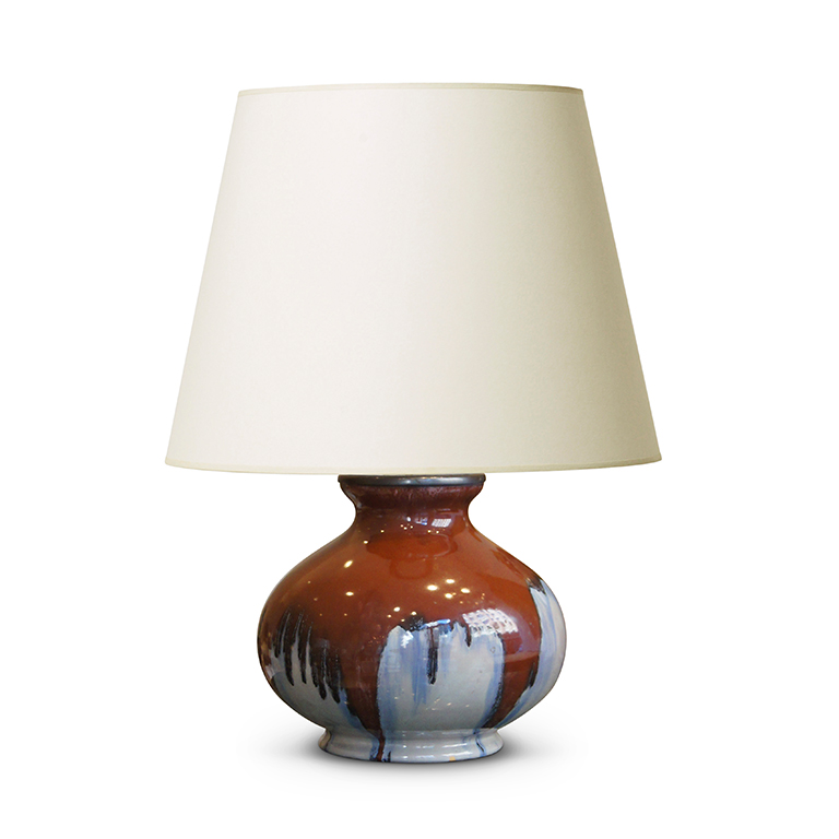 gallery bac arts and crafts table lamp with burnt umber. Black Bedroom Furniture Sets. Home Design Ideas